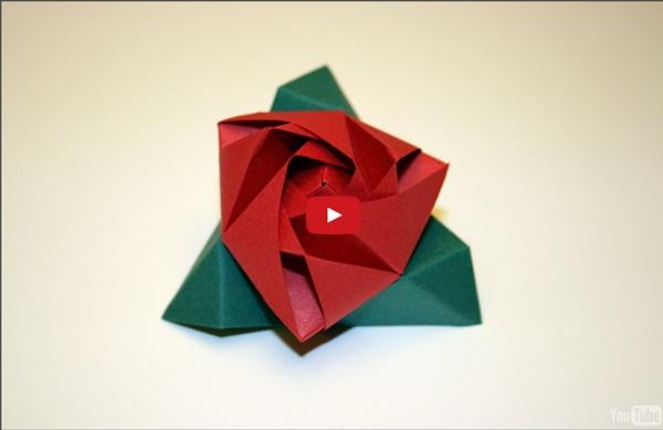 Origami - Magic Rose Cube
