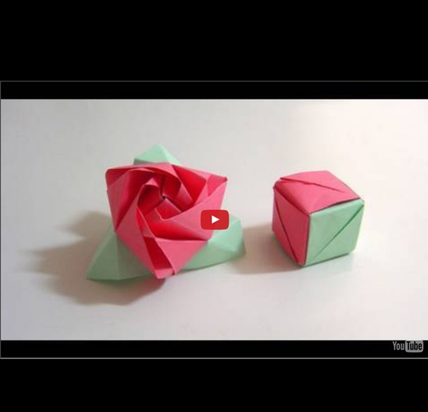 How to make an Origami Kaleidoscope | Easy Origami Tutorial ... | 577x600