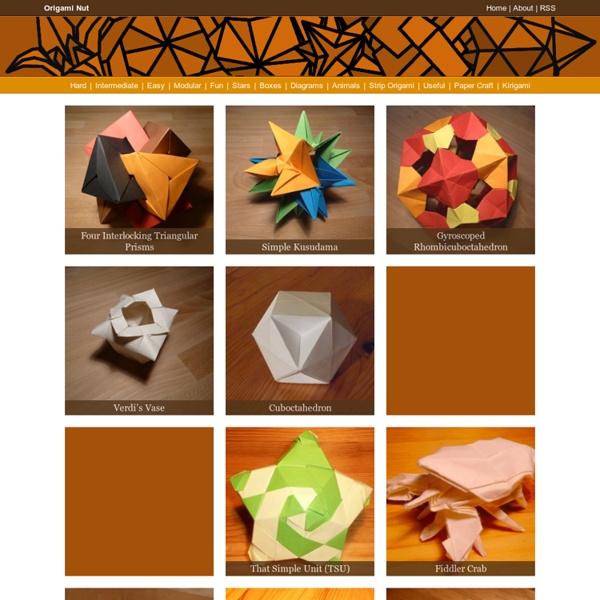 Origami Nut