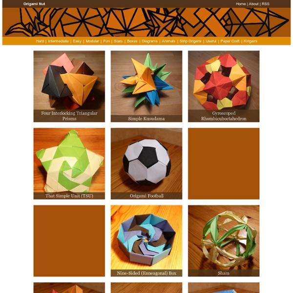 Origami Nut » Modular