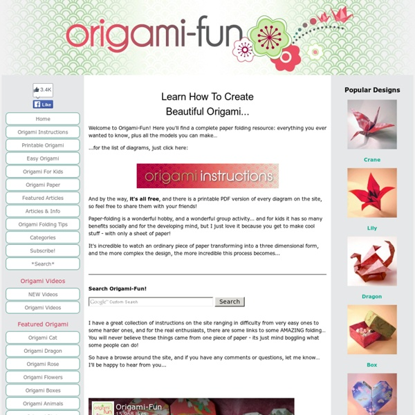 Origami That's Fun And Easy