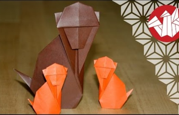 Origami - Singe traditionnel