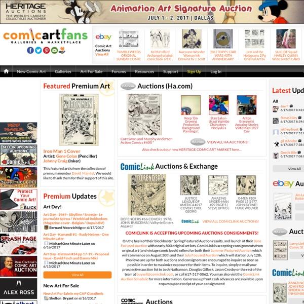 The Original Comic Art Gallery for Collectors