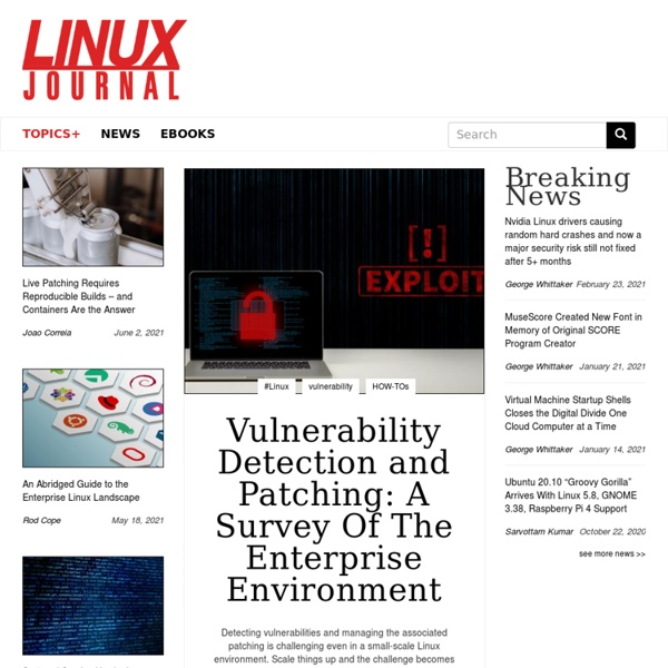 The Original Magazine of the Linux Community