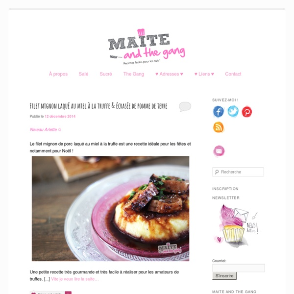 Maite and the Gang – Recettes faciles pour les nuls
