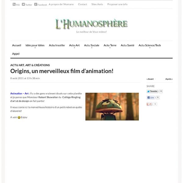 L'HumanosphèreL'Humanosphère - Site d'actualités positives