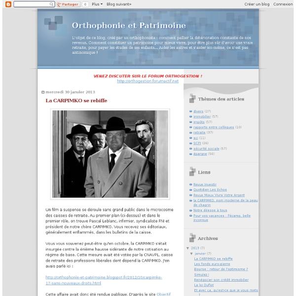Orthophonie et Patrimoine