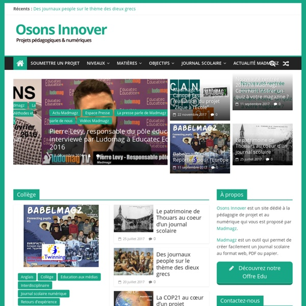 Osons Innover