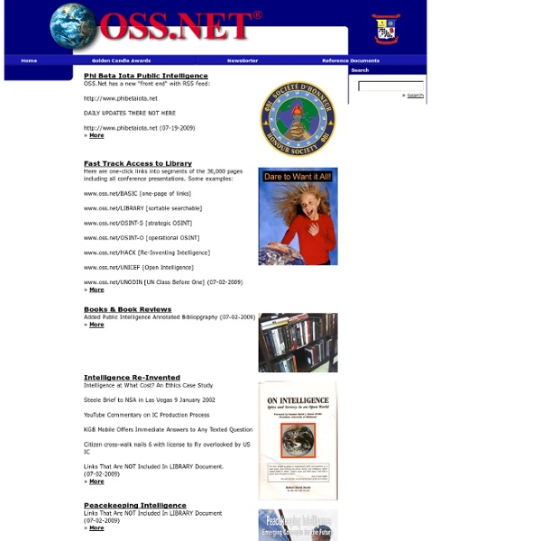 OSS.Net, Inc. Home Page