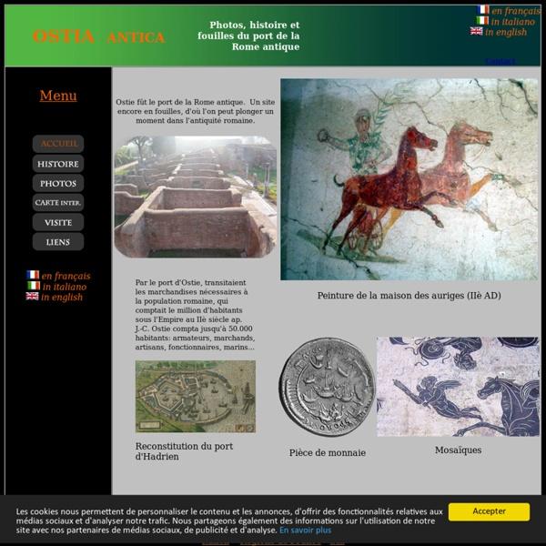 Ostia antica - Ostie - Le port de la Rome antique