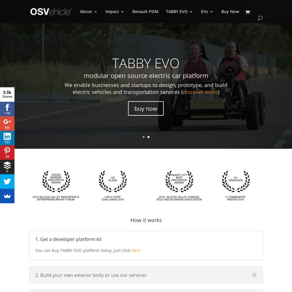 OSVehicle® - Open Source Vehicle - TABBY EVO