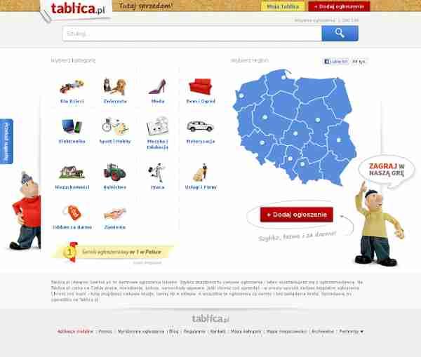 Ogłoszenia - Sprzedam, kupię na Tablica.pl