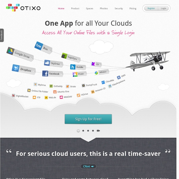 Otixo Access all your online files