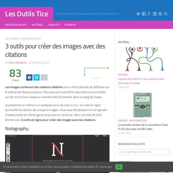 3 outils pour créer des images avec des citations
