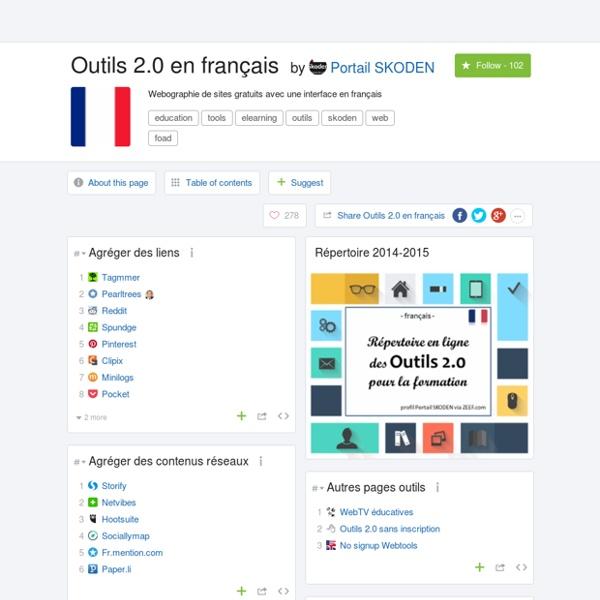 Outils 2.0 en français by Portail SKODEN