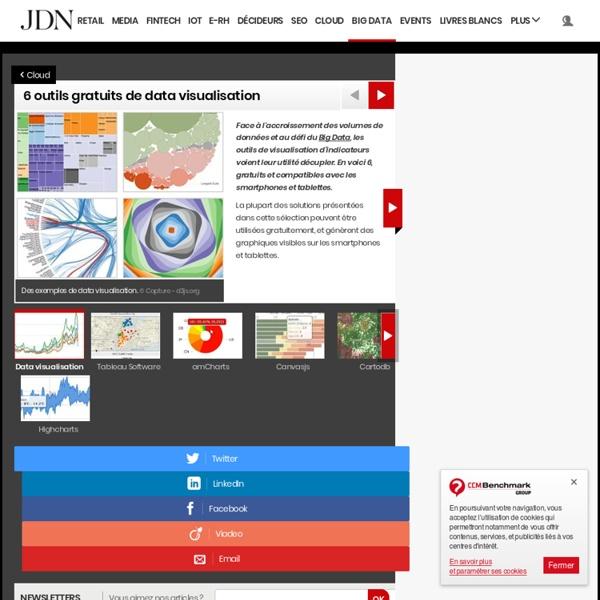 6 outils gratuits de data visualisation