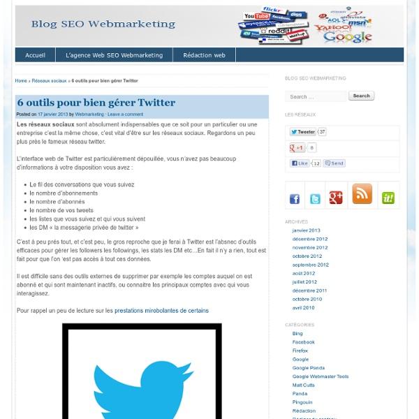 6 outils indispensables pour bien gérer Twitter