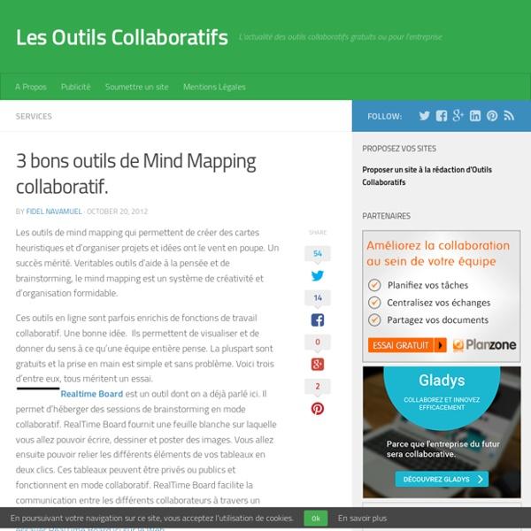 3 bons outils de Mind Mapping collaboratif