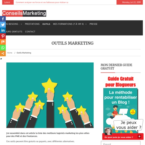 Outils marketingConseilsMarketing.fr