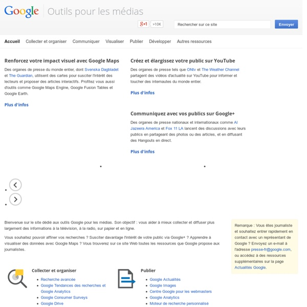 Outils media – Google