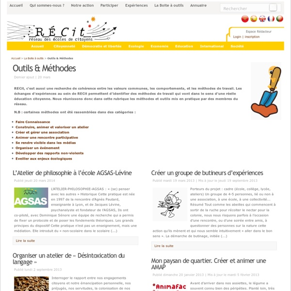 Outils & Méthodes