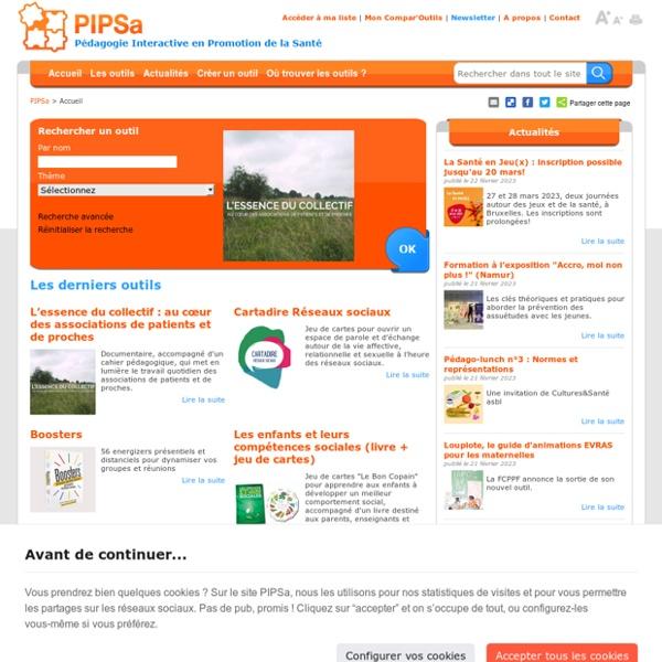 PIPSA – Le travail c'est la santé, traversez la rue pour être en forme