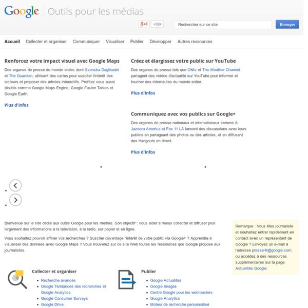 Outils media – Google