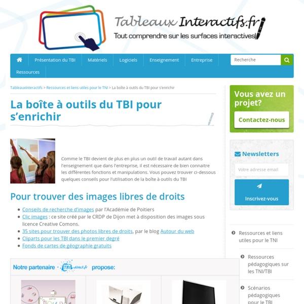 Boîte à outils de TBI : ressources en ligne pour enrichir vos cours avec TBI