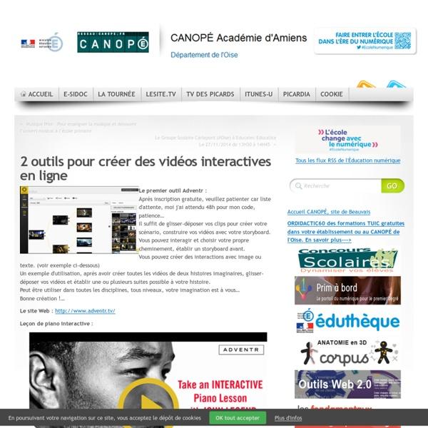 2 outils pour créer des scénarios interactifs de vos vidéos en ligne