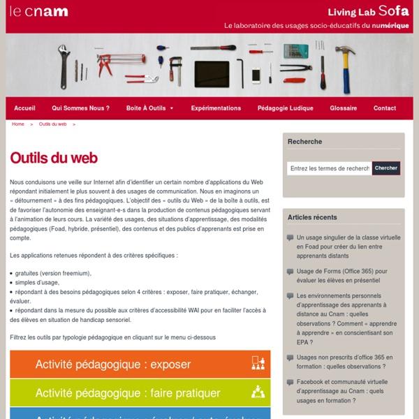 Le Cnam - Living Lab Sofa