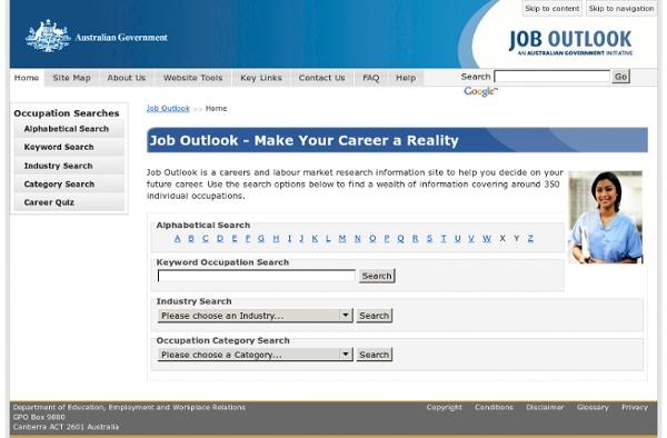 Job Outlook - Make Your Career a Reality