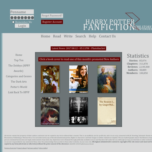 Over 80,000 Harry potter stories