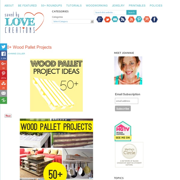 Over 50 Wood Pallet Projects