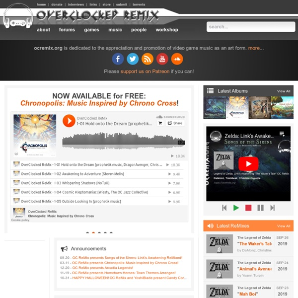 OverClocked ReMix - Video Game Music Community