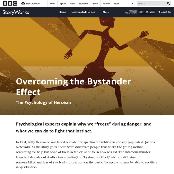 Overcoming the Bystander Effect