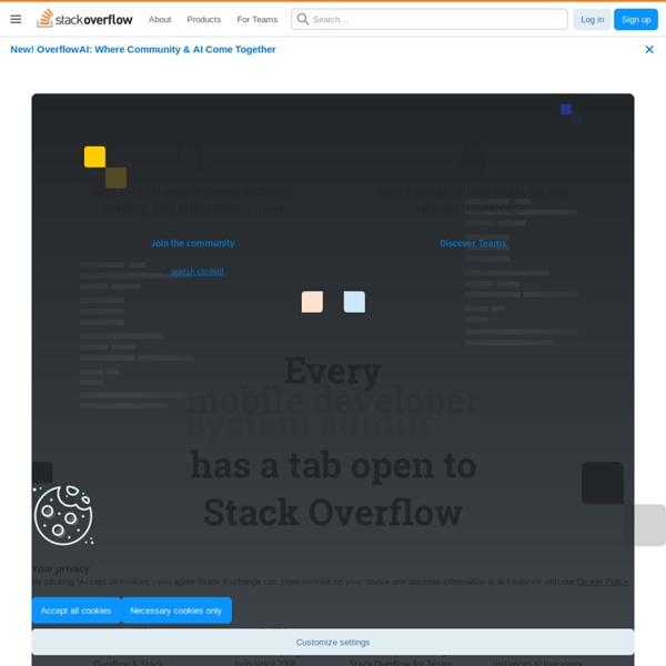 Stack Overflow (可以查詢前端功能項的平台)