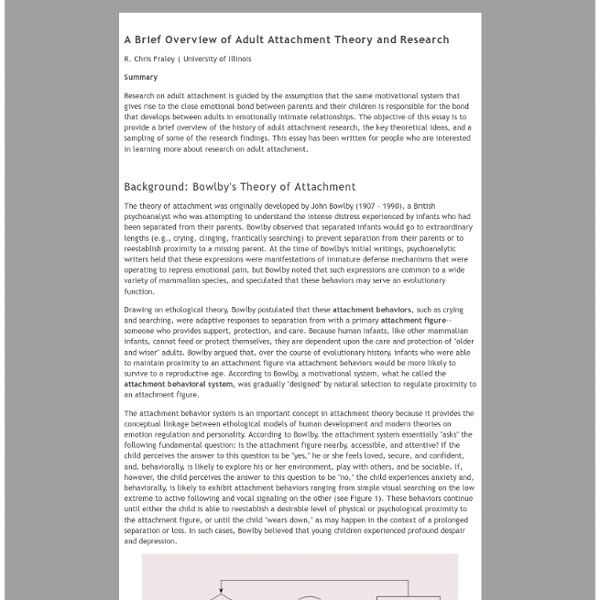 attachment theory essay review and criticisms of attachment theory