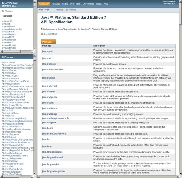Java Platform SE 7
