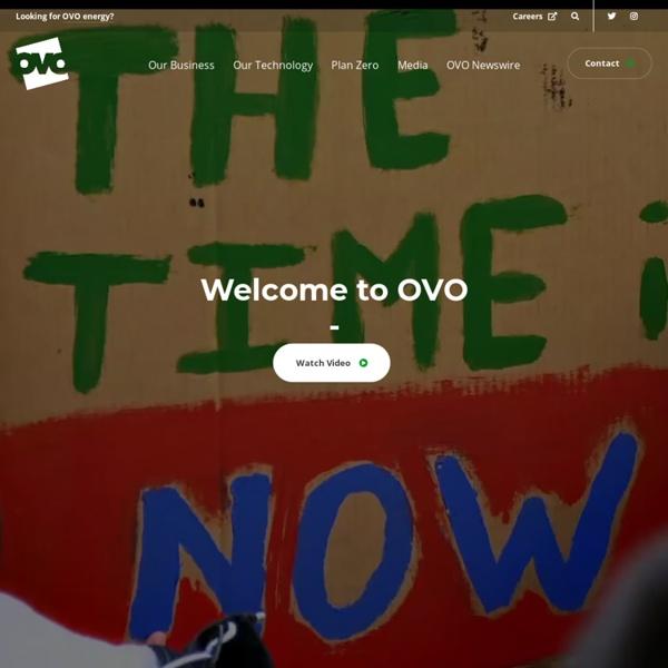OVO.com - Home