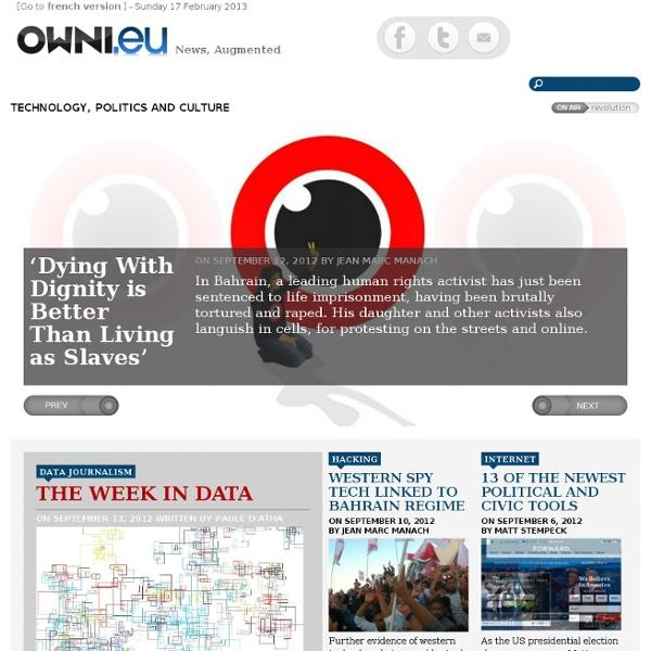 OWNI.eu, News, Augmented
