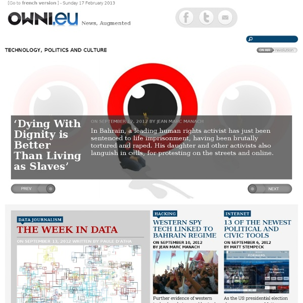 OWNI.eu, News, Augmented