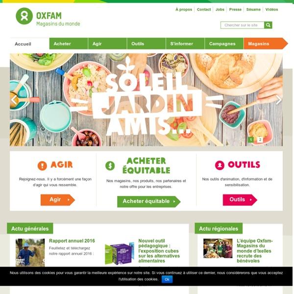 Oxfam-Magasins du monde