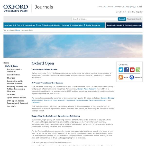 Oxford Open