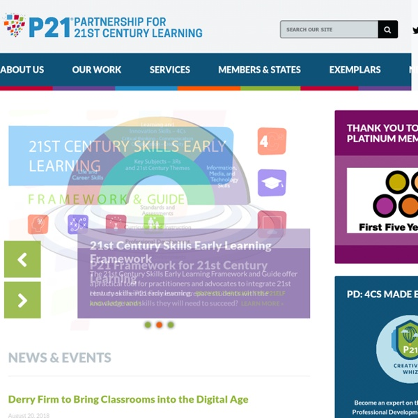 The Partnership for 21st Century Skills