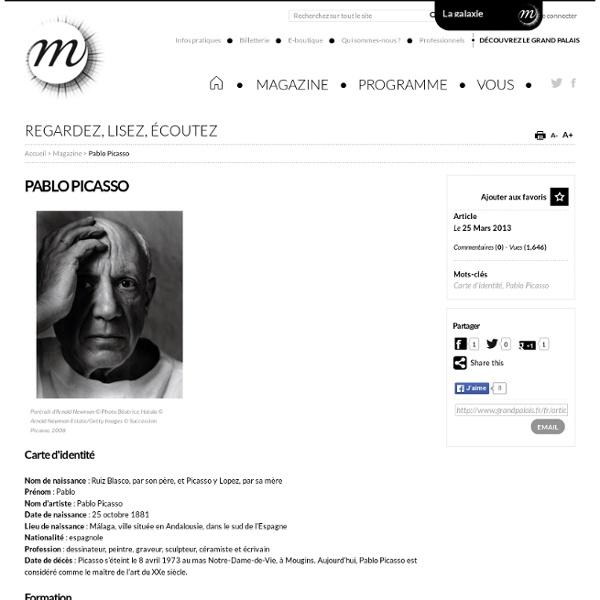 Pablo Picasso, Pablo Picasso pour le jeunesse, picasso et les maîtres, histoire de l'art, art contemporain, Jeunesse et art