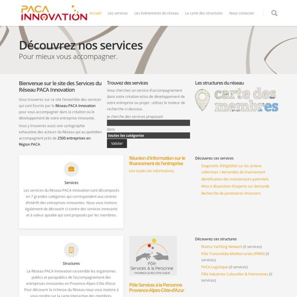 Accueil - PACA Innovation
