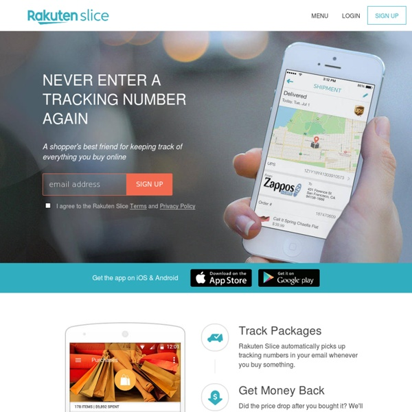 Slice - Track Your Stuff (Packages, Purchases, Price Drops, Recalls)
