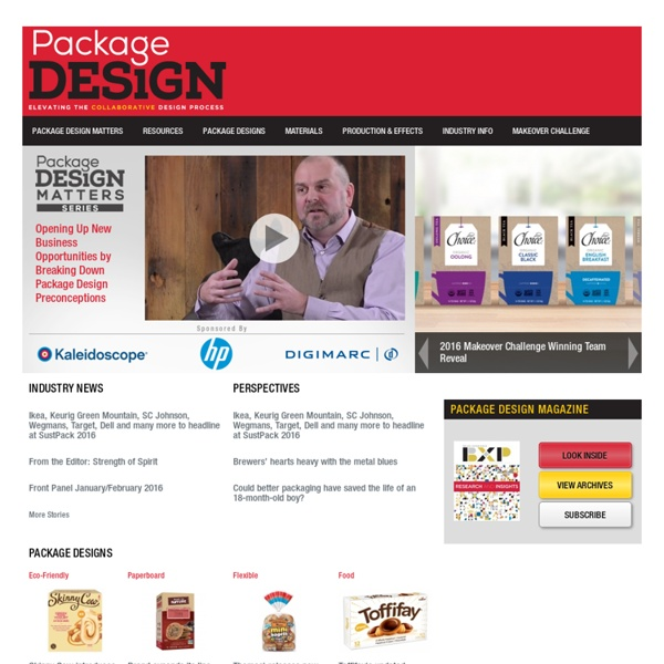 Packaging, Branding and Design News for the flexible, plastic, and corrugated packaging industry
