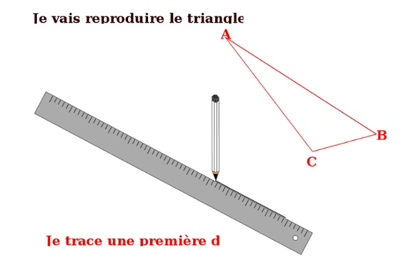 Reproduire un triangle