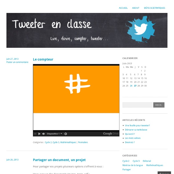 Tweeterenclasse.wordpress